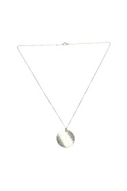 5th Avenue Round Pendant Necklace in sterling