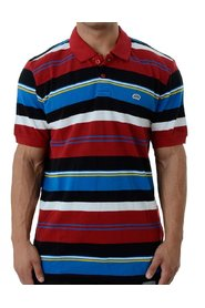 Irregular Stripe Polo