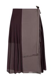 Tie-up skirt