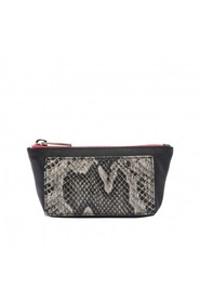 Wallet Zippy Black Python