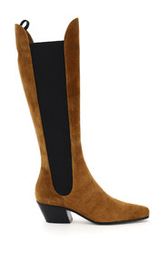 Stivali suede chester knee high chelsea