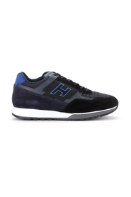 H321 sneaker in leather and suede
