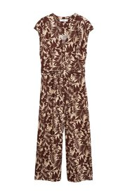 Tropical tryck jumpsuit