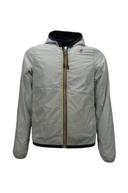 reversible man jacket with hood