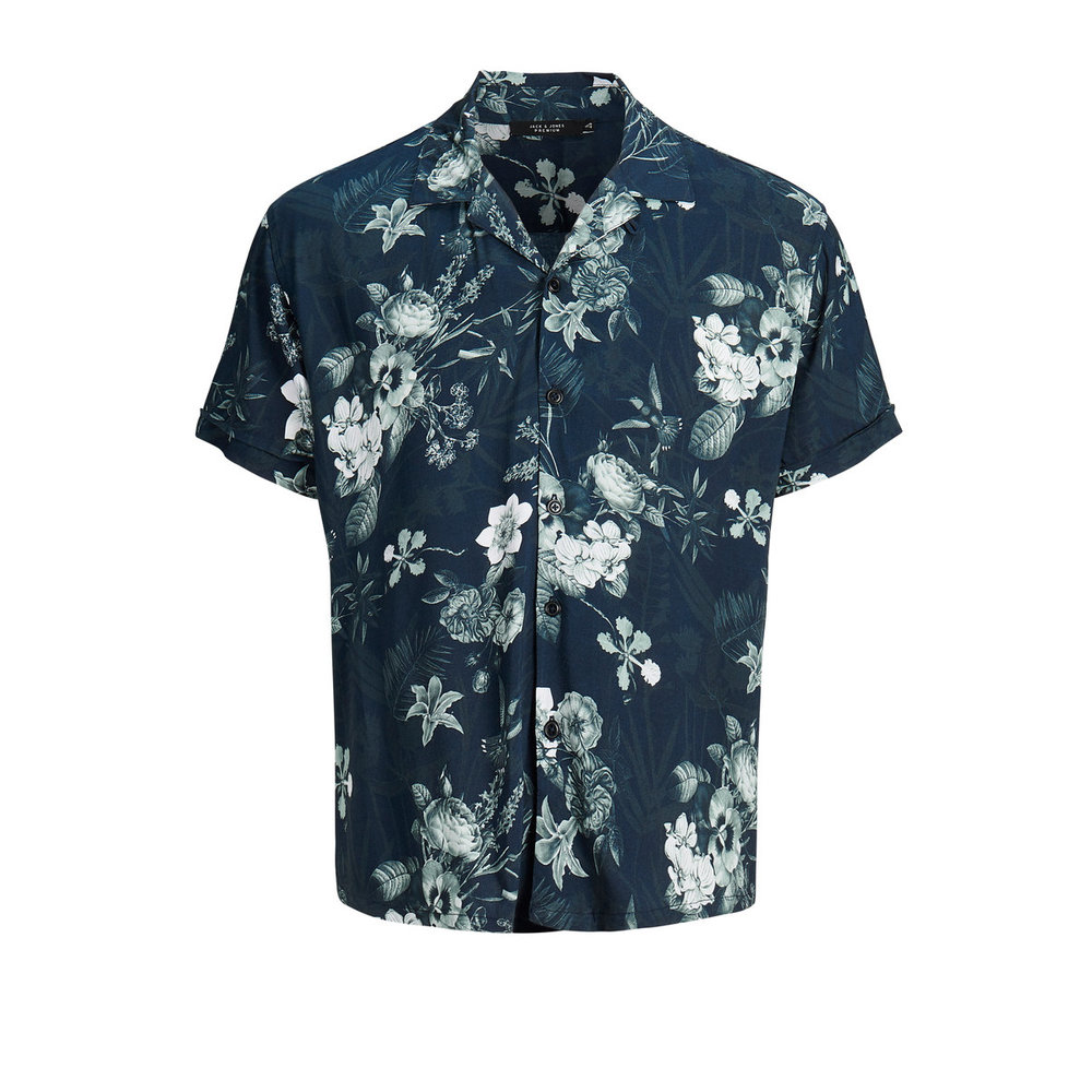 Short sleeved shirt Floral