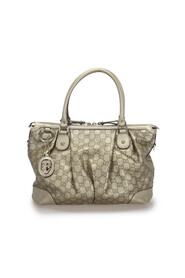 Pre-owned Guccissima Sukey Leather Satchel