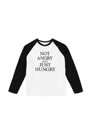 Not Angry Just Hungry  Longsleeve