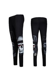 Skull Hat Black Leggings