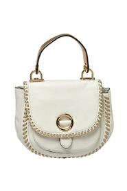 Leather Isadore Stitch Top Handle Bag