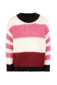 Pullover oversize striped