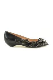 Studded Bow Ballerina Shoes
