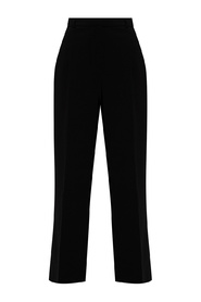Pleat-front trousers