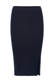 Midi nederdel Strikket -