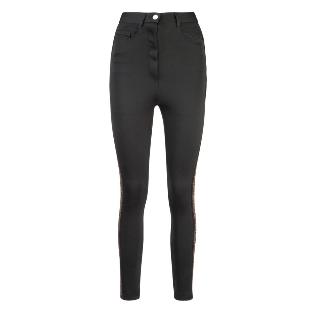 Black Pantalone  Fendi  Slim-fit bukser - Dameklær er billig