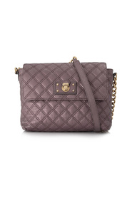 Quilted Calf Leather Shoulder Bag