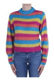BLOOM SOFT Choker sweater