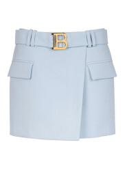 Short skirt with logo