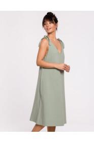 Sukienka na wiązanych ramiączkach B148