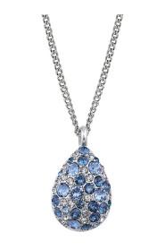 Bailey Necklace Blue Mix Smykker