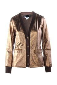 Leather And Wool Jacket -Pre Owned Condition Very Good