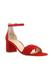 Paul Green Sandal, Red Suede