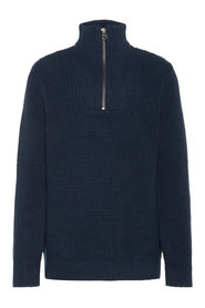 Knitted Pullover high neck chunky