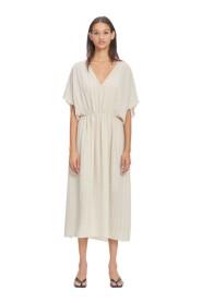 andina lång klänning 12697