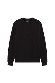 Embossed Compass Sweater