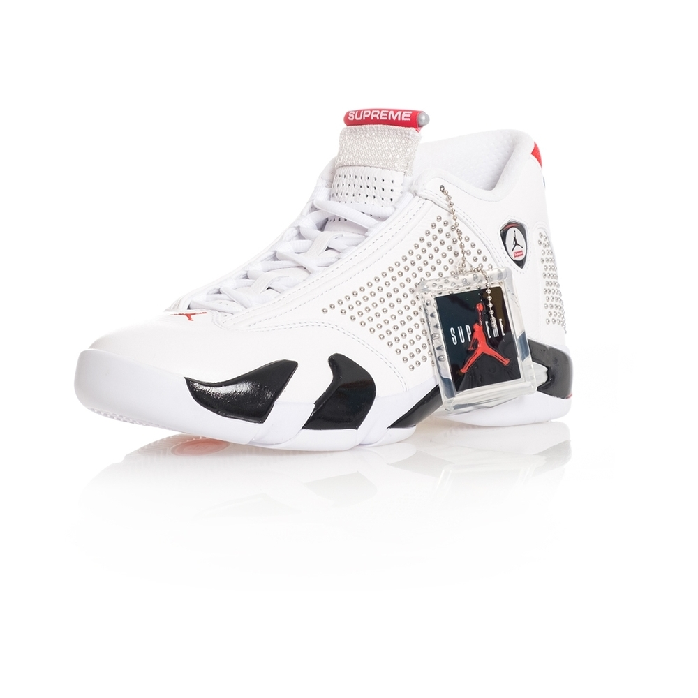 White SNEAKERS Heren AIR JORDAN 14 RETRO S X SUPREME BV7630.106 | Nike | Sneakers | Herenschoenen