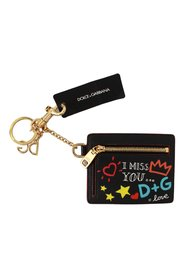 Gold Keyring Case Coin Wallet Keychain