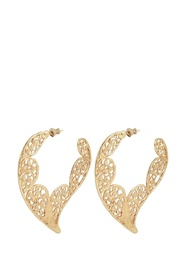 'Paule' earrings with logo