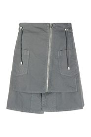 MINI SKIRT WITH ZIPPERS