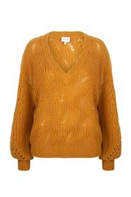Dante6 - Eras Cable Sweater - 211 Honey Gold