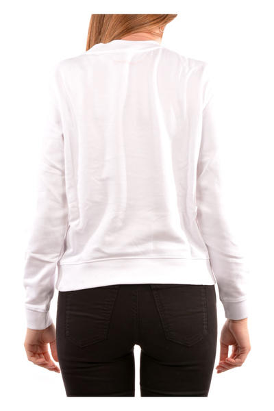 White Sweater Emporio Armani Striktrøjer