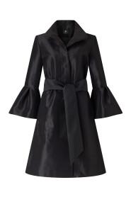 DALE taffeta coat