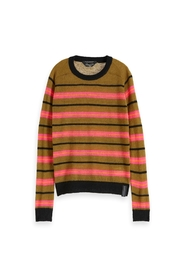 Colourful striped pullover  153187
