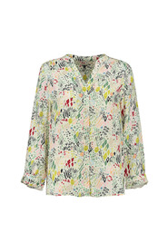 sp6542 print blouse nature hug