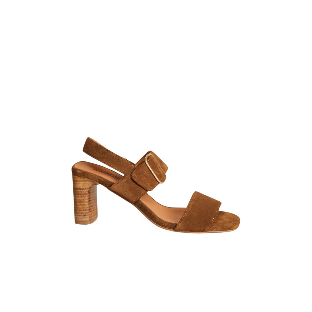 Ydriss suede leather sandals
