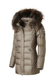 Beam Mid' Jacket Med Natural Fur