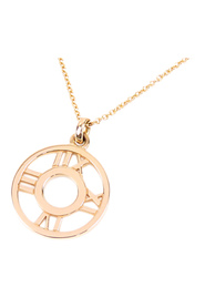 Atlas Open Diamond Necklace Metal