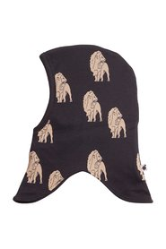 KRUTTER - Lion Elephant Hat, 2-lags - Dusty Black