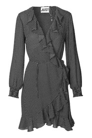 Niro wrap dress