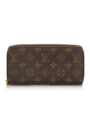 Monogram Zippy Wallet Canvas