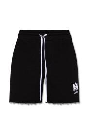 Sweat shorts with logo