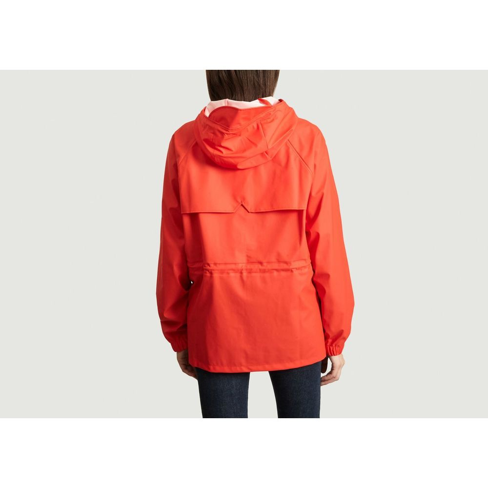 Rains Red W Jacket Parka Rains