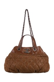 Pre-owned Classic In the Mix Lambskin Leather Satchel Bag