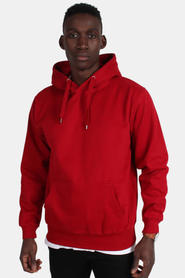 Basic Brand Hooded Sweat Red