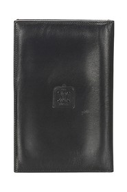 Triomphe Leather Passport Cover