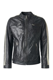 Biker jacket in leather Trust
