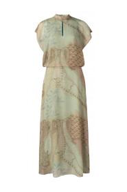 Paisley Cap Sleeve Dress